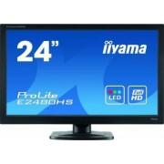 Monitor LED 23.6 Iiyama E2480HS-B2 FullHD 2ms Negru