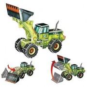Jigsaw 3D Puzzle Transportation Series - Wheel Loader