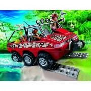 Playmobil 4844 - Véhicule Amphibie Avec Explorateurs