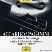 Salvatrore Accardo, Charles Dutoit, London Philarmonic Orchestra - Accardo Plays Paganini (0028946375426) (6 CD)