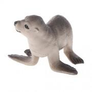 Generic Realistic Sea Lion Cub Sealife Marine Animal Model Figurine Kids Toy Gift Collectibles