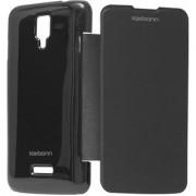 Snaptic Karbonn Titanium S5 Plus Flip Cover Case Black