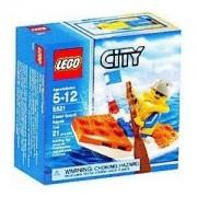 Lego City Set #5621 Mini Figure Coast Guard KayakLego City Set #5621 Mini Figure Coast Guard Kayak