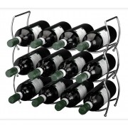 Excellent Houseware Stapelbaar Wijnrek - 12 flessen