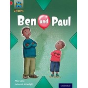 Project X Origins: Red Book Band, Oxford Level 2: Big and Small: Ben and Paul by Alex Lane