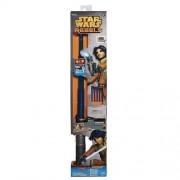 Hasbro - Star Wars Ezra Bridger Light Saber Blaster, 2 in 1