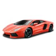 Bburago 18-11033 - Lamborghini Aventador LP 700-4 Modellino, Scala 1:18, Colori Assortiti: Blu Metallizzato/Bianco/Arancione Metallizzato