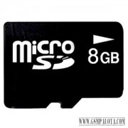 8 GB Micro SD HC memóriakártya