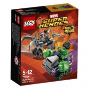 LEGO Super Heroes - Set Mighty Micros: Hulk vs. Ultrón, multicolor (76066)