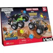 KNEX Monster Jam Grave Digger versus Maximum Destruction Set