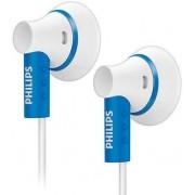 Casti Stereo Philips SHE3000BL (Alb/Albastru)