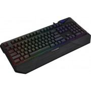 Tastatura Gaming Tesoro Durandal Spectrum Mechanical RGB, Cherry MX RED (Negru)