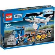LEGO City Transportor de avion cu reactie 60079