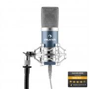 Auna MIC-900WH condensator USB microfon albastru Studio rinichi