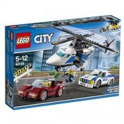 Lego City 60138 - Set Costruzioni Inseguimento ad Alta Velocità