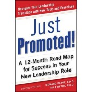 Just Promoted! A 12-Month Road Map for Success in Your New Leadership Role by H. Edward Betof