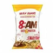 8AM Desayuno Proteico con Avena sabor chocolate Nutrisport 650 gr.