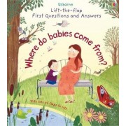 Lift-The-Flap First Questions & Answers Where Do Babies Come from? by Katie Daynes
