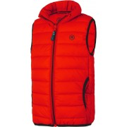 Color Kids Tonny Quilted Waistcoat Kids fiery coral 116 Kunstfaserwesten