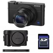 SONY Compact DSC-RX100 IV NOIR + ETUI + SD 4 Go