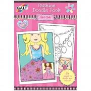 Carte de colorat Fashion Doodle