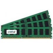 Crucial 24GB kit DDR3-1600 24GB DDR3 1600MHz Data Integrity Check (verifica integrità dati) memoria