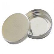 Latinhas para Lembrancinhas Mint to be - 5x1cm - Kit c/ 50 unidades