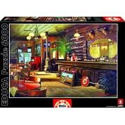 Educa 16357 Puzzle 6000 pezzi- Big Sky Saloon