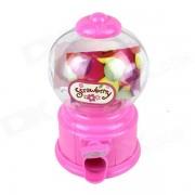 Manual Rotation Torsion Candy Machine / Piggy Bank - Pink (350mL)