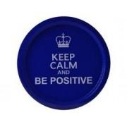 Tavă rotundă cu model Perfect Home 15350, 32,5 cm