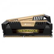 Memorie Corsair Vengeance Pro Gold 8GB (2x4GB) DDR3 1600MHz CL9 1.5V Dual Channel Kit, Black/Gold, CMY8GX3M2A1600C9A
