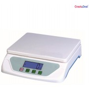 CrackaDeal New TS 500 Digital 5Kg Electronic Weighing Scale(White, Blue)
