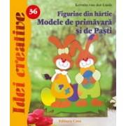 Figurine din hârtie.Modele de primăvară şi Paşti - Idei Creative 36.