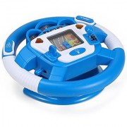 Steering Wheel Learn to Drive Simulated Toy Driving Machine for Kids - Color may Vary