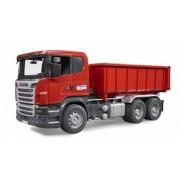 Scania camion cu container