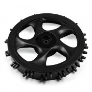 Duramaxx hátsó kerék tüskékkel robotfűnyíróhoz, outdoor (VC4-Plastic-Wheels)