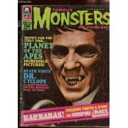 Famous Monsters Of Filmland - Oct 1968 / Dark Shadows - Dr Cyclops Is Dead - Strange Things Are Coming / Son Of Frankenstein - Mad Mad Mad Mad Monkey Wilrd Etc...