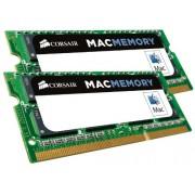 Corsair CMSA16GX3M2A1600C11 Kit di Memoria da 16 GB, (2x8 GB), DDR3L, 1600 MHz, Apple Certified, SODIMM, Verde