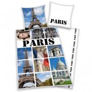 Párizs feliratos ágyneműhuzat