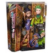 Monster High Boo York Cleo De Nile si Deuce Gorgon