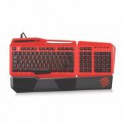 STRIKE 3 Red tastatura RGB LED osvetljenje Mad Catz