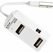 Hub USB E-Blue Dynamic Purity White 4 porturi USB2.0