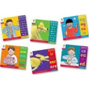 Oxford Reading Tree: Level 4: Floppy's Phonics: Sounds and Letters: Pack of 6 by Debbie Hepplewhite