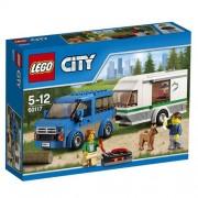 LEGO - Furgoneta y caravana, multicolor (60117)