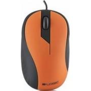 Mouse Optic Logic Concept LM-14 Negru-Portocaliu