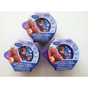 Three Sets of Disney 039 s Frozen Small Snack Container each Set Contains 3 Containers and Three Lids