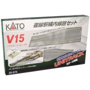 N V15 Unitrack Double Track Set for Station [Toy] (japan import)