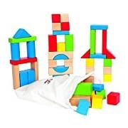 Hape HAP-E0409 Maple 50pc Block Set