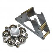 Hot Steel Ball Hand Spinner Tripod Tri Hand Spinner Finger Spinner Stainless Steel Spin EDC Sensory Fidget Spinner For Autism