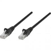 Patch Cord RJ45 UTP categoria 6, 1m, Cupru, Negru